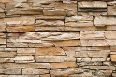 Brown brick wall Stock Images