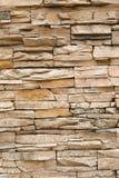 Brown brick wall Royalty Free Stock Photography