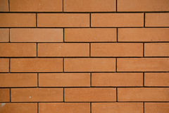 Brown brick wall Royalty Free Stock Photos