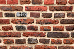 Brown brick wall Stock Image