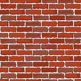 Brown brick wall Royalty Free Stock Photos