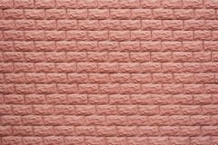 Brown brick wall. Textural background. Nobody, close-up. Brick wall. Textural background. Nobody, close-up Royalty Free Stock Image