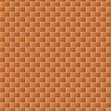 Brown brick wall texture for background. Seamless pattern Royalty Free Illustration