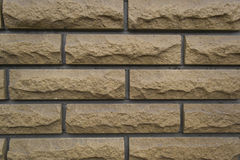 Brown brick wall texture background Stock Photography