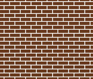 Brown brick wall texture background. vector Stock Images
