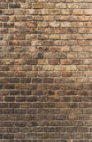 The brown brick wall texture Royalty Free Stock Image