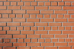 Brown brick wall texture. Old cracked Brown brick wall texture cement Stock Photos