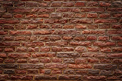 Brown Brick Wall Texture Royalty Free Stock Photo