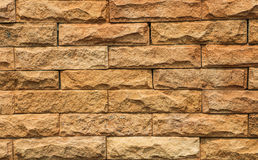 Brown bricks. Brown brick isolated on a background Stock Image