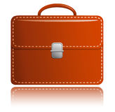Brown briefcase Royalty Free Stock Photo
