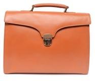 Brown briefcase Royalty Free Stock Photos