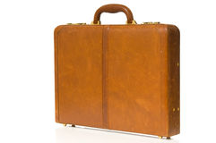 Brown Briefcase royalty free stock photos