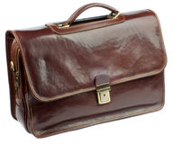 Brown Briefcase Stock Images