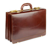Brown Briefcase Royalty Free Stock Photography