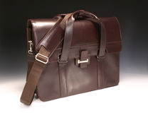Brown Briefcase Stock Photography