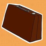 Brown Briefcase Stock Photos
