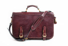 Brown Briefcase royalty free stock images