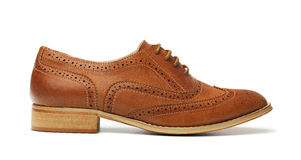 Brown Brogue Stock Photos