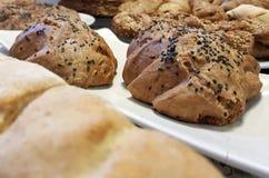 Brown-Brot mit Startwerten für Zufallsgenerator Lizenzfreies Stockbild