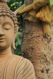 Brown buddha Royalty Free Stock Photography