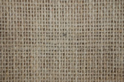 Brown Burlap Bag Background Stock Photo