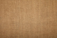 Brown burlap jute canvas texture background Royalty Free Stock Photos