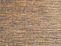 Brown burlap surface detail Royalty Free Stock Image
