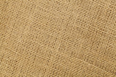 Brown burlap texture Stock Photo