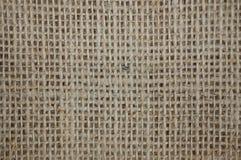 Brown Burlap torby tło Zdjęcie Stock