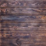 Brown Burned Vintage Wooden Planks Wall Texture Background Royalty Free Stock Images