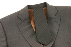 Brown business costume Stock Photos