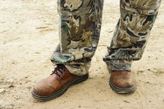 Brown buty dla mężczyzna Zdjęcie Stock