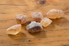 Brown Candy Sugar Stock Photography
