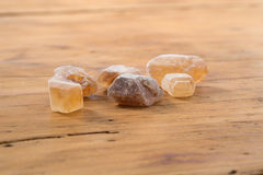 Brown Candy Sugar Royalty Free Stock Photos