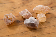 Brown Candy Sugar Stock Images
