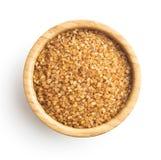 Brown cane sugar. Stock Photo