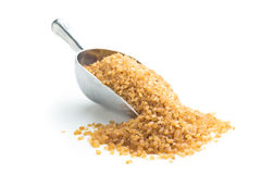 Brown cane sugar. Stock Images