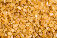 Brown cane sugar. Royalty Free Stock Images