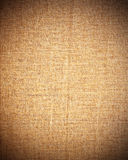 Brown canvas as vintage texture or background Stock Image