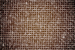 Brown Canvas Background Royalty Free Stock Photography