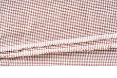 Brown canvas tablecloth texture Royalty Free Stock Photo