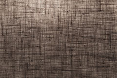 Brown canvas textile background Stock Photos