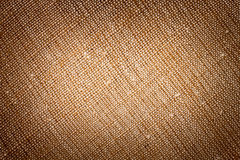 Brown canvas texture. Or background royalty free stock image