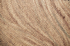Brown canvas texture Stock Images