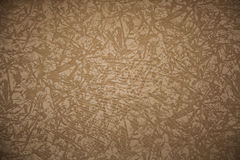Brown canvas texture or background Stock Images