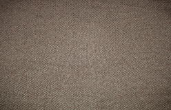 Brown canvas texture or background Royalty Free Stock Photography