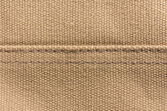Brown canvas texture background. Royalty Free Stock Image