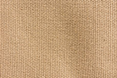 Brown canvas texture background. Royalty Free Stock Images
