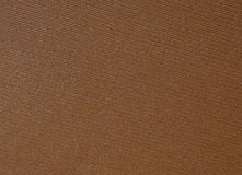 Brown canvas texture Stock Image