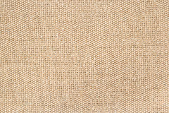 Brown canvas. Texture of brown canvas , use for background Stock Photography